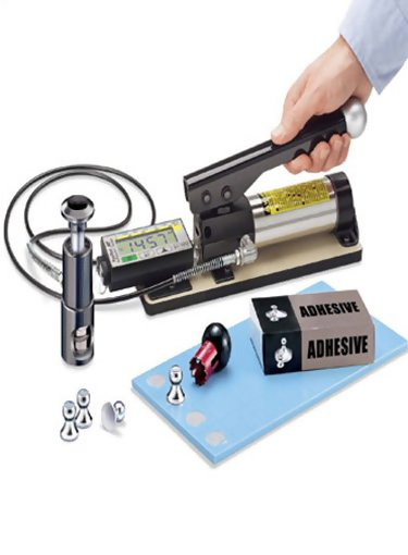 DeFelsko ATM20A PosiTest AT-M Manual Pull Off Adhesion Tester with 20mm Dollies Kit